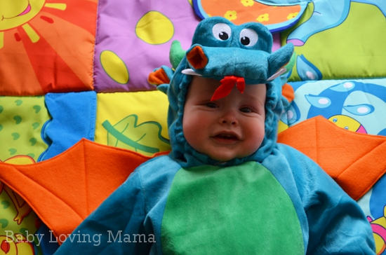 Party City Dinky Dragon Baby Costume