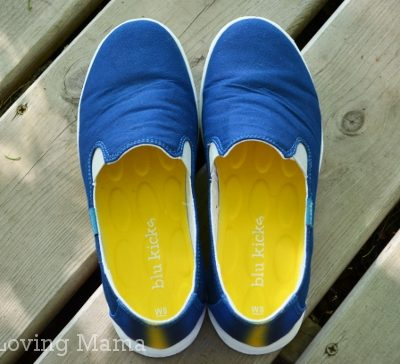 Blu Kicks Offers Stylish & Bright Canvas Slip-Ons {Review & Giveaway}