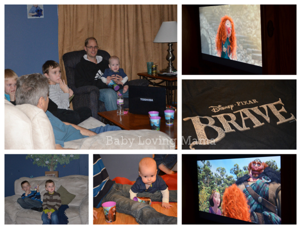 Brave Disney Party Collage 1