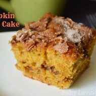 Delicious Pumpkin Coffee Cake {Recipe}