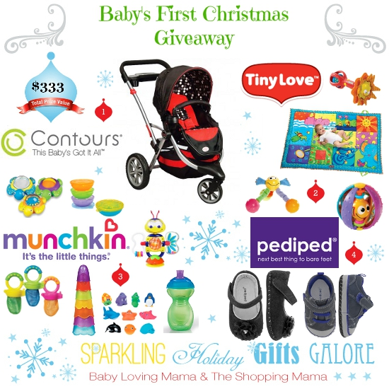 Sparkling Holiday Gifts Galore: Baby\'s First Christmas Giveaway ...