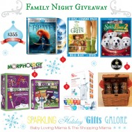 Sparkling Holiday Gifts Galore: Family Night Giveaway with Disney & More!