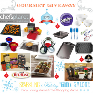 Sparkling Holiday Gifts Galore: Gourmet Giveaway with Wilton, Chef's Planet & More! CLOSED