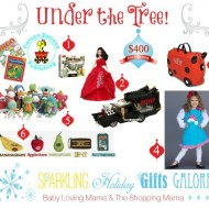 Sparkling Holiday Gifts Galore: Under the Tree Giveaway (Lego, Barbie & more!)