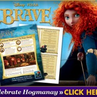 Celebrate the New Year with Disney's BRAVE & a Traditional Hogmanay Party