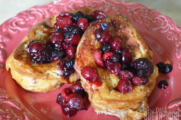 Cream Cheese Stuffed Berry French Toast Bake Recipe and more ...