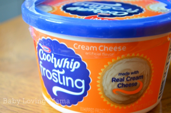 Cool Whip Frosting Cream Cheese