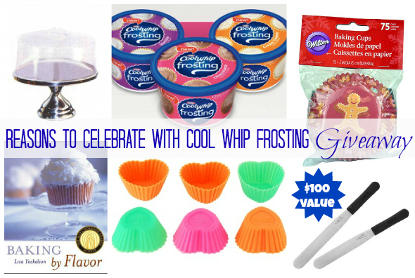 Cool Whip Frosting Reasons to Celebrate Giveaway