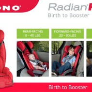 Diono RadianRXT Birth to Booster Car Seat Offers Peace of Mind {Review & Giveaway}