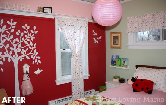 Little Girls Bedroom Makeover Reveal with Land of Nod - Finding Zest