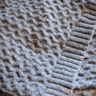 My Meridian Reversible Cable Scarf from the Lands' End Holiday Gift Shop