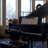 Lucian's First Piano Recital: A Little Christmas Cheer in the Wake of Tragedy