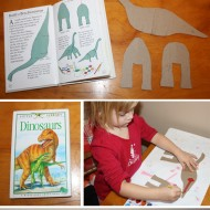 Build a Dinosaur {Craft Tutorial}