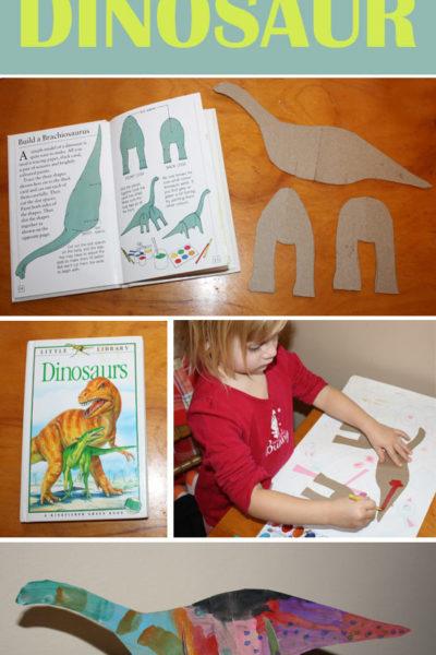 Build a Dinosaur {Craft Tutorial}