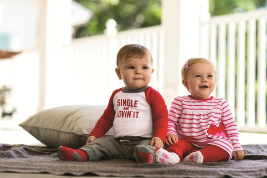 Carters Valentines Day babies