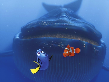 Finding Nemo Whale