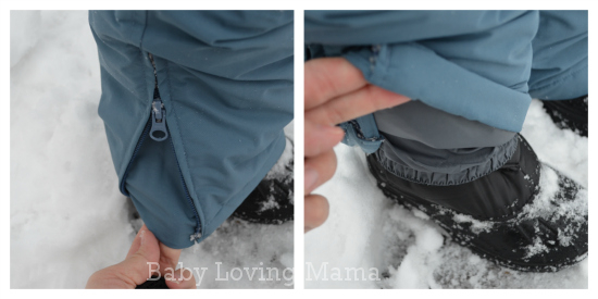 Lands End Waterproof Squall Snow Pants Boys