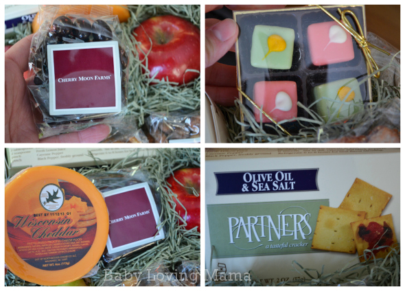 Proflowers Special Treasures Fruit Nut Gift Basket 2