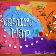 Treasure Map Art {Craft Tutorial}