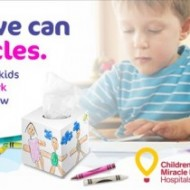 White Cloud Partners with the Children's Miracle Network to Make Miracles Happen