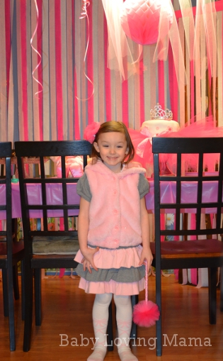 Ballerina Birthday Party Bella 2