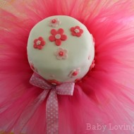 A Ballerina Birthday Party Complete with Tutu Cake