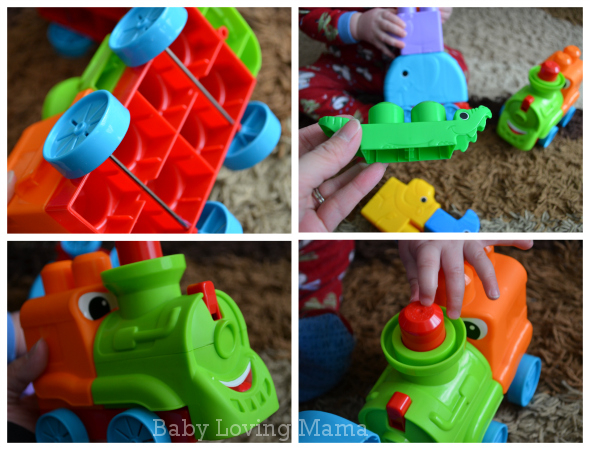 Mega Bloks First Builders Safari Train 2
