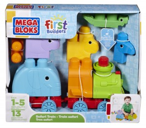 Mega Bloks First Builders SafariTrain