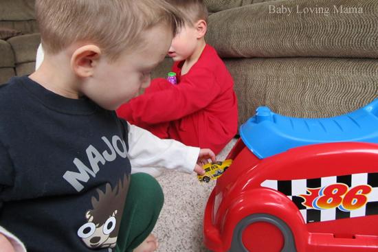 Mega Bloks Whirl N Twirl Race Car3