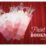 Paint Chip Bookmark {Inspired By Pinterest Craft Tutorial}