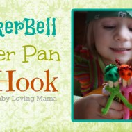 TinkerBell, Peter Pan and Hook {Craft Tutorial}