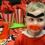Warren's Fun Angry Birds Birthday Party from Party City