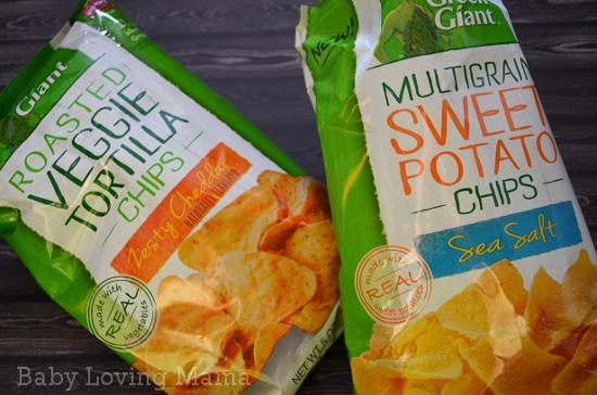 Green Giant Veggie Snack Chip Varieties