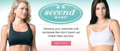 Second Base Demi Camis Facebook Giveaway with In The Mood Intimates