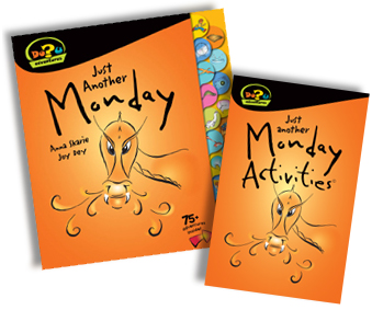 Just Another Monday (DoU Adventure) Children's Book {Review and Giveaway}