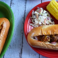 Easy BBQ Meatball Subs with Kraft Fresh Take #KraftFreshTake