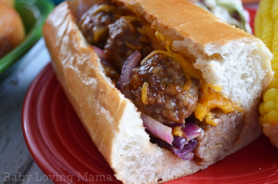 Kraft Fresh Take Barbecue Meatball Sub Inside Look
