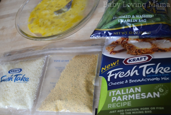 Kraft Fresh Takes Italian Parmesan Chicken Dinner 3
