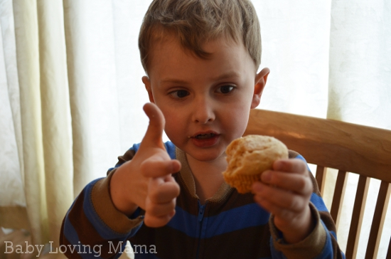 Peanut Butter and Jelly Muffins 5