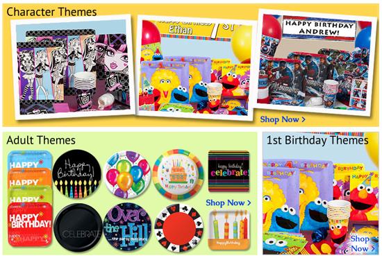 Shindigz Party - themes