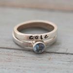 SomethingAboutSilver_stacking ring and gemstone