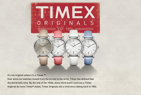 TimexSpring2013 originals