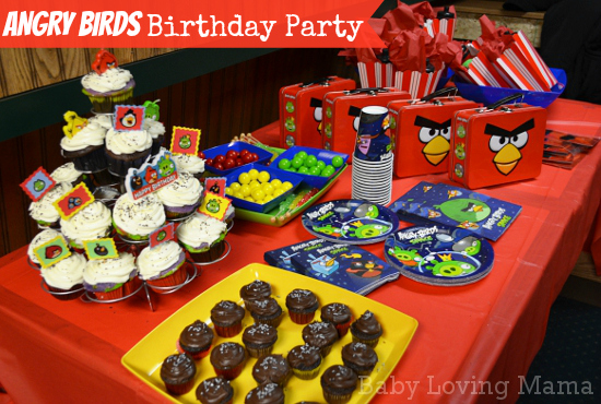 Angry Birds Birthday Party Party City