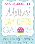 Mother's Day Gifts Galore: HUGE Blog Event Celebrating Moms Starts April 22nd