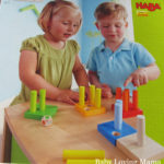 Educational Fun | Haba First Fun with Quantities Pegging Game and Play Set Cat Lucy {Review}