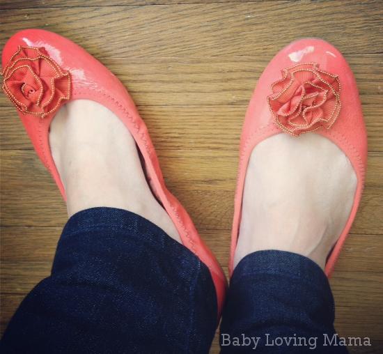 Lindsay Phillips Liz Ballet Flat Coral 7