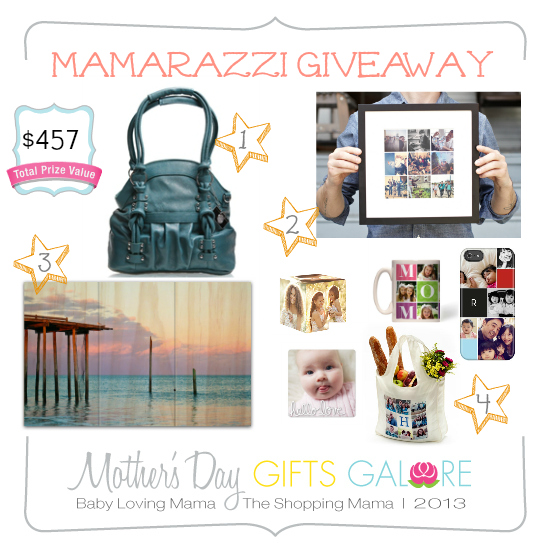 Mamarazzi Mothers Day Gifts Galore Giveaway