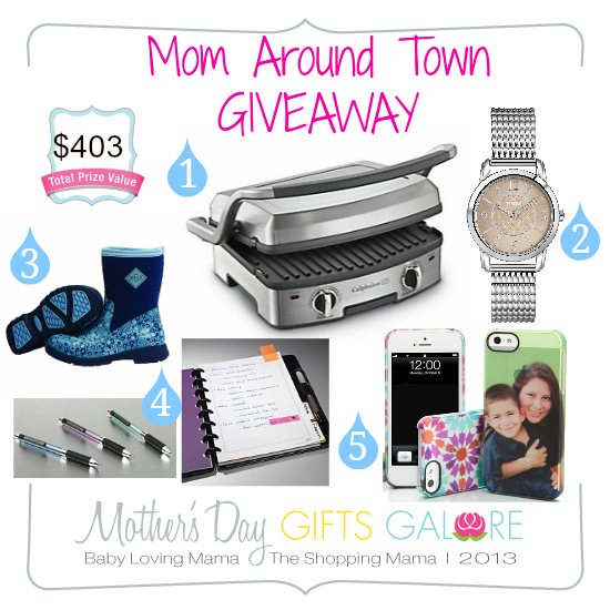 Mothers Day Gifts Galore Mom Around Town Giveaway