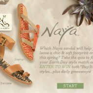 "Naya Shoes' ""Buy It. Plant It."" Campaign to Benefit Reforestation Efforts 