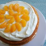 Pineapple Orange Spring Layer Cake Recipe to Celebrate Spring